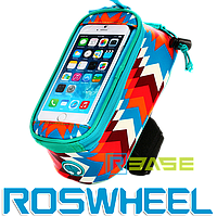 Велосипедная сумка на раму для смартфона Roswheel 121024 Trier