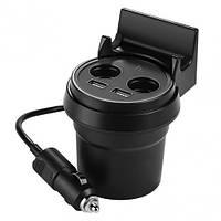 Автомобильное зарядное устройство HOCO Car charger UC207 Black