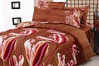 Комплект постельного белья ARYA сатин Anetta Красный евро