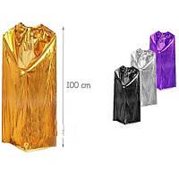 """Карнавальный костюм """"Плащ """" лаковый (100 см), цвета в ассортименте, TOY140710-22"""