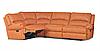 """Угловой кожаный диван """"Sydney"""" (Сидней)"""