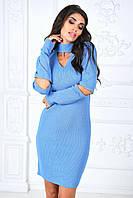 Женское вязаное платье 1969 Турция-Б