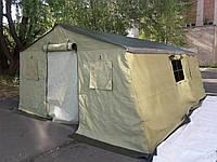 Палатка армейская с комбинированным тентом 4х5м