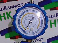 Манометрический коллектор одновентильный  VALUE  VMG-1-U-L  Type2  (R 410,407,22,134)  синий, низкое давление.