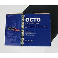 Велосипедная цепь TAYA OCTO для 7/8 скоростей в бухте 30м для веломастерских
