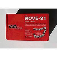 Велосипедная цепь TAYA NOVE-91 для 9 скоростей в бухте 30м для веломастерских