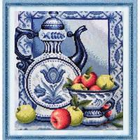 """Набор для вышивания крестиком """"Натюрморт с яблоками"""", J045/1"""