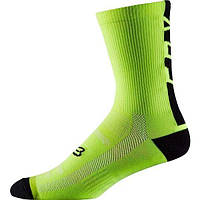 "Велоноски FOX DH SOCK 6"" [FLO YLW], S/M"