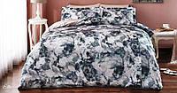 Комплект постельного белья Tivolyo Home ELLA Коричневый евро