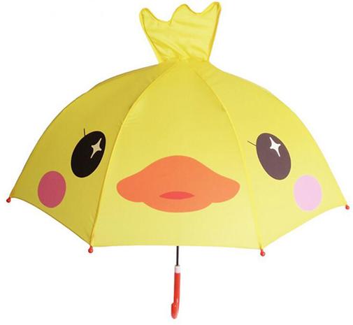 "Детский зонтик 3D ушки ""Утенок"""