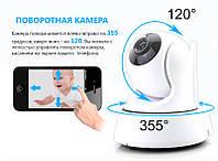 Поворотная ip камера с ик подсветкой