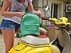 """Авторский городской Рюкзак из натуральной кожи """"Crazy Horse"""" для девушек, фото 7"""