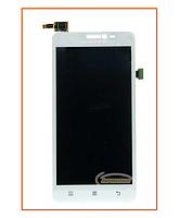 Дисплей Lenovo S850 с сенсором (тачскрином) White Original