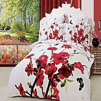 Постельное белье комплект ARYA Сатин Iris евро