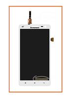 Дисплей Lenovo S856 с сенсором (тачскрином) White Original