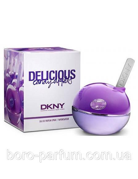 Женская туалетная вода  DKNY Delicious Candy Apples Juicy Berry (Донна Коран Би Делишес Кенди Епл Джус Кери) - Интернет-магазин элитной парфюмерии и косметики Boro Parfum  в Харькове