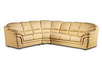 """Кожаный угловой диван """"OLGA"""" (Ольга). (307 см)"""