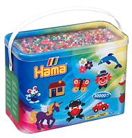 Термомозаика Hama Набор цветных бусин 30.000 шт midi, 22 цвета (208-67)
