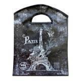 """Эко-сумка 40*32,5*95см донный фальц с прорезными ручками """"Париж"""", 64011"""