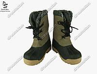 Подростковые ботинки коричневые (Код: ДББ-07)