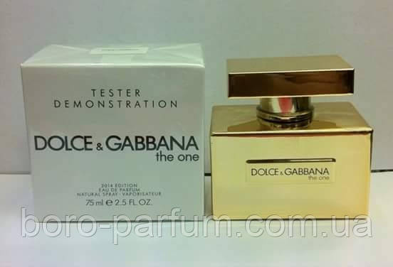 Dolce & Gabbana The One Gold Limited Edition 75 мл TESTER женский