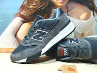 Кроссовки мужские New Balance 597 (реплика) серо-синие 44 р., фото 1
