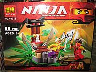 Конструктор Bela Ninjago / ниндзяго Ниндзя NINJA 10315 Ловушка в джунглях