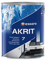 Eskaro Akrit 7 (Акрит 7)Моющаяся шелково-матовая краска для стен