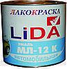 Эмаль автомобильная МЛ-12. ОАО Лакокраска г.Лида, Белоруссия  2 кг, зеленая листва
