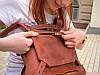 """Самый функциональный рюкзак из натуральной кожи """"Crazy Horse"""", фото 5"""