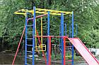 Игровой комплекс для детей на улицу с горкой и качелями, фото 5