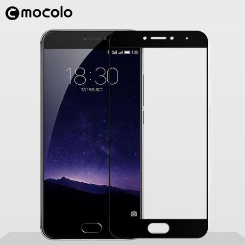 Защитное стекло Mocolo 2.5D 9H на весь экран для Meizu M5c черный