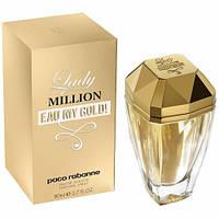 Женская парфюмерная вода Paco Rabanne Lady Million Eau My Gold