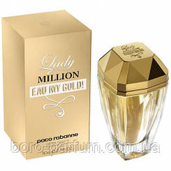 Женская парфюмерная вода Paco Rabanne Lady Million Eau My Gold (Леди Миллион Май Голд)