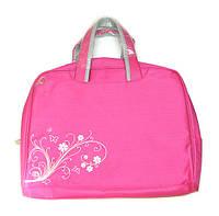Сумка для ноутбука женская розовая