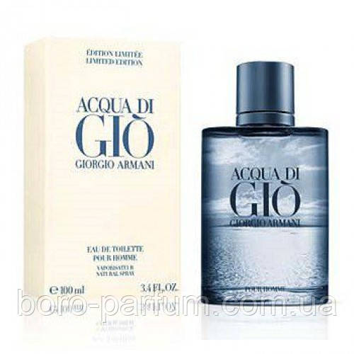 Мужская туалетная вода Giorgio Armani Acqua Di Gio Blue Edition