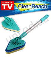 Швабра для мытья окон телескопическая Clean Reach