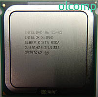 Intel Xeon E5405 (SLBBP, 12M Cache, 2.00 GHz, 1333 MHz FSB) +перехідник