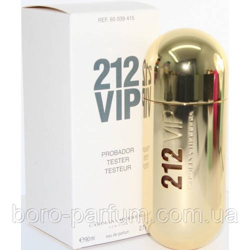 Carolina Herrera 212 Vip gold 100 ml TESTER женский