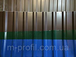 Профнастил ПК-20 цветной  0,40, фото 2