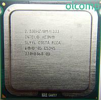 Intel Xeon E5345 (SL9YL, 8M Cache, 2.33 GHz, 1333 MHz FSB) +перехідник