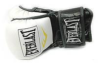 Перчатки для смешанных единоборств Everlast 4612 (полиуретан) белые реплика