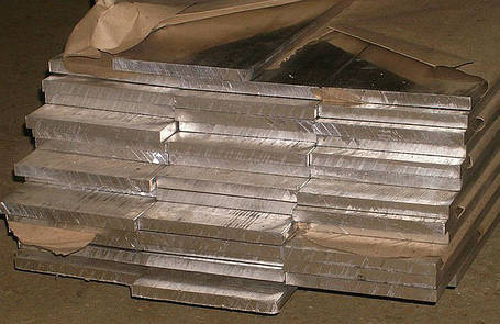 Алюминиевая полоса, шина 120 мм 6060 Т6 (АД31Т), фото 2