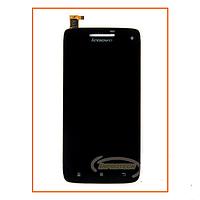 Дисплей Lenovo S960 с сенсором (тачскрином) Black Original