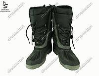 Подростковые ботинки черные (Код: ДББ-28)