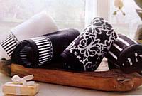 Набор полотенец Tivolyo Home CASABLANCA 4 шт. черный 40Х60