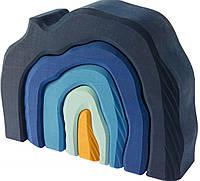 Головоломка из дерева Пещера nic  NIC523323 Синий