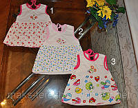 Детское летнее платье-туника