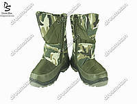 Подростковые сапоги камуфляжные (Код: ДББ-30)
