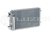 Радиатор кондиционера 2190 Гранта с ресивером (LRAC 0190) ЛУЗАР